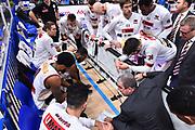 Campionato Italiano Basket 2017/18<br /> 17° Giornata - Ritorno - <br /> Trento 28/01/2018<br /> Dolomiti Energia Trentino - Umana Reyer Venezia79-83 <br /> Nella foto  TIME OUT REYER VENEZIA TEAM<br /> Foto GiulioCiamillo/Ciamillo-Castoria