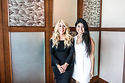 Lunch with Lori Greiner! Pictured: Lori Greiner and Juliza Kramer.<br /> <br /> West Palm Beach, FL – World of Possibilities held its 2019 Leadership Conference on February 21, 2019, at the Marriott West Palm Beach. The day-long leadership event will feature celebrated golfer turned philanthropist Jack Nicklaus, celebrity entrepreneur from the hit show Shark Tank, Lori Greiner, and with New York Times best-selling author and Harvard Professor John P. Kotter.<br /> <br /> World of Possibilities is a day-long leadership event with distinguished heads of American businesses and non-profit organizations that gathered at the Marriott West Palm Beach for a day full of teaching, sharing, and friendship. Our goal with World of Possibilities is to offer today's top leaders an opportunity to share their ideas and experiences and to learn from each other. Held in cooperation with Leadership Development International and Kotter International, the event featured four leadership sessions. Visit us online for more details: https://www.worldpossibilities.com<br /> <br /> Photo Credit © 2019 Kirk Francis https://www.kirkfrancis.com