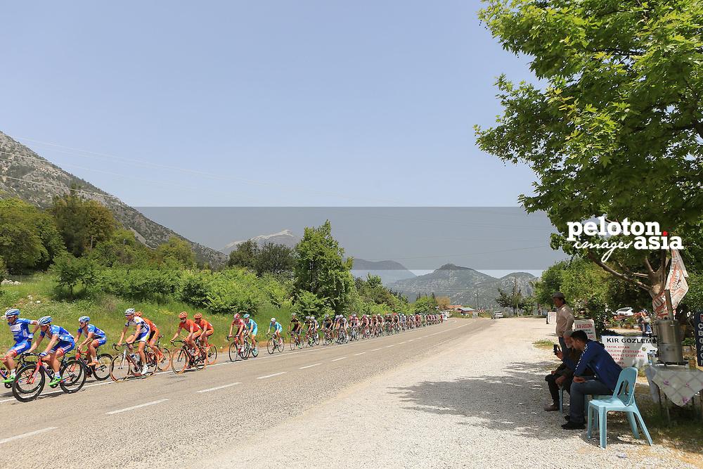 Tour of Turkey 2015 / Stage 3/ Kemer - Elmali / 165.3km / Peloton