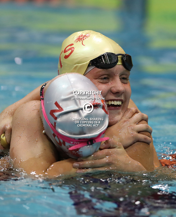 DURBAN, SOUTH AFRICA - APRIL 07: Dune Coetzee Women 200 LC Meter Butterfly Final during day 5 of the 2017 SA National Aquatic Championships at Kings Park Aquatic Centre on April 07, 2017 in Durban, South Africa. (Photo by Steve Haag/Gallo Images)