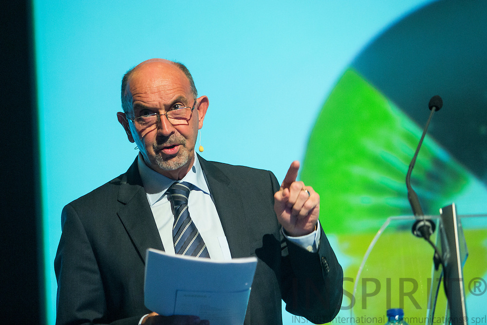 Kees Cools, Executive Director Business Unit Fruits & Vegetables Doehler Group, DE, at the Juice Summit in Antwerp 15 - 16 October 2014. Photo: Erik Luntang