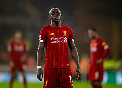 WOLVERHAMPTON, ENGLAND - Thursday, January 23, 2020: Liverpool's Sadio Mané during the FA Premier League match between Wolverhampton Wanderers FC and Liverpool FC at Molineux Stadium. (Pic by David Rawcliffe/Propaganda)