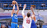 DESCRIZIONE : Qualificazioni EuroBasket 2015 Russia-Italia  <br /> GIOCATORE : Marco Cusin<br /> CATEGORIA : nazionale maschile senior A <br /> GARA : Qualificazioni EuroBasket 2015 - Russia-Italia<br /> DATA : 13/08/2014 <br /> AUTORE : Agenzia Ciamillo-Castoria