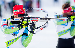 Klemen Bauer of Slovenia during Slovenian National Cup in Biathlon, on December 30, 2017 in Rudno polje, Pokljuka, Slovenia. Photo by Ziga Zupan / Sportida