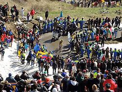 31.05.2014, Monte Zoncolan, ITA, Giro d Italia 2014, 20. Etappe, Maniago nach Monte Zoncolan, im Bild Etappensieger Michael Rogers, AUS (#209, Tinkoff- Saxo) // stage winner Michael Rogers, AUS (#209, Tinkoff- Saxo) during Giro d' Italia 2014 at Stage 20 from Maniago to Monte Zoncolan, Italy on 2014/05/31. EXPA Pictures © 2014, PhotoCredit: EXPA/ R. Eisenbauer