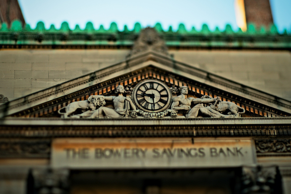 Bowery Savings Bank building, New York, NY, US