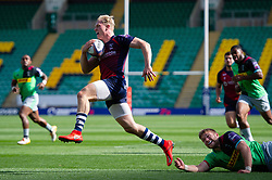 Aaron Chapman of Bristol Bears in action - Mandatory byline: Patrick Khachfe/JMP - 07966 386802 - 14/09/2019 - RUGBY UNION - Franklin's Gardens - Northampton, England - Premiership Rugby 7s (Day 2)