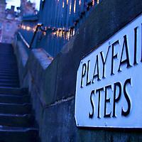 Navigating Edinburgh one step at a time