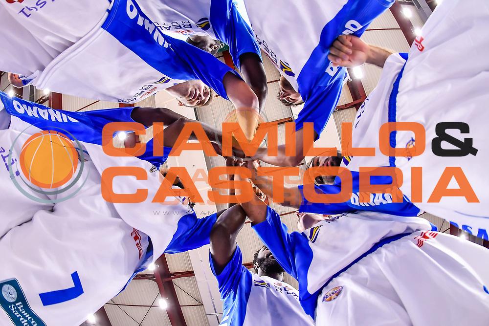 Team Dinamo Banco di Sardegna Sassari<br /> Dinamo Banco di Sardegna Sassari - Openjobmetis Pallacanestro Varese<br /> Lega Basket Seire A 2016/2017<br /> Sassari 03/10/2016<br /> Foto Ciamillo-Castoria