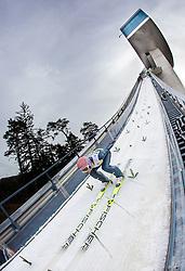 03.01.2014, Bergisel Schanze, Innsbruck, AUT, FIS Ski Sprung Weltcup, 62. Vierschanzentournee, Training, im Bild Andreas Kofler (AUT) // Andreas Kofler (AUT) during practice Jump of 62nd Four Hills Tournament of FIS Ski Jumping World Cup at the Bergisel Schanze, Innsbruck, <br /> Austria on 2014/01/03. EXPA Pictures © 2014, PhotoCredit: EXPA/ JFK