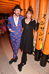 Philip Colbert and Charlotte Colbert at Sambazonia presented by Sushisamba and Cool Earth at SushiSamba, 110 Bishopsgate, City of London England. 28 February 2017.