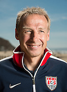Jurgen Klinsmann photographed for Freunde magazine at Crystal Cove State Park in Laguna Beach, Calif., on April 8, 2014..
