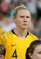 International Women's Friendly Matchs 2019 / <br /> Cup of Nations Tournament 2019 - <br /> Australia v New Zealand 2-0 ( Leichhardt Oval Stadium - Sidney,Australia ) - <br /> Clare Polkinghorne of Australia