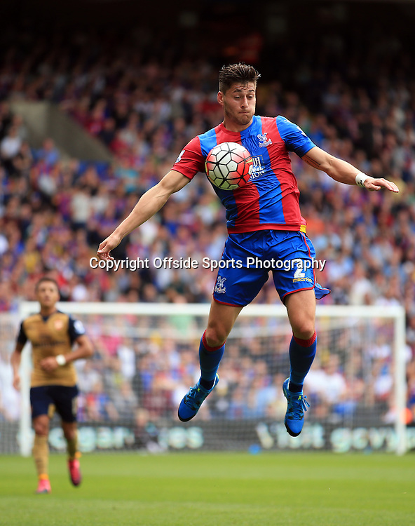 16 August 2015 - Barclays Premier League - Crystal Palace v Arsenal - Joel Ward of Crystal Palace - Photo: Marc Atkins / Offside.