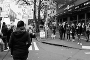 Seattle Women March Against Hate. Seattle, WA. December 2016.