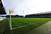 General view inside of Fratton Park Stadium ahead of the EFL Sky Bet League 1 match between Portsmouth and Ipswich Town at Fratton Park, Portsmouth, England on 21 December 2019.