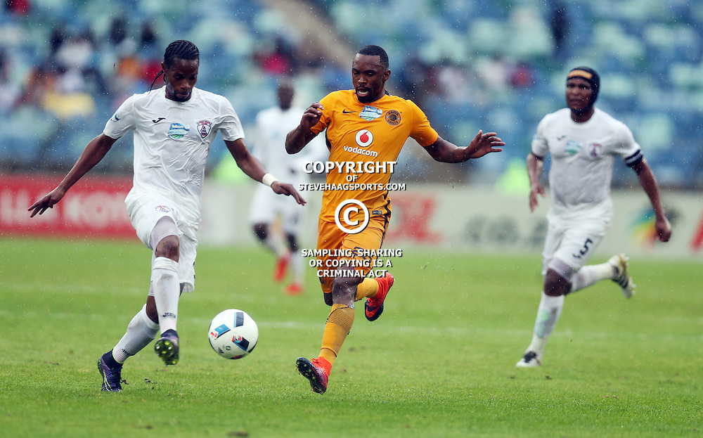 Bernard Parker of Kaizer Chiefs looks to make a tackle during the Telkom Knockout quarterfinal  match between Kaizer Chiefs and Free State Stars at the Moses Mabhida Stadium , Durban, South Africa.6 November 2016 - (Photo by Steve Haag Kaizer Chiefs)
