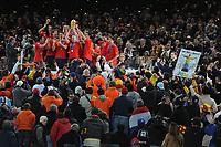 FOOTBALL - FIFA WORLD CUP 2010 - FINAL - SPAIN vs NETHERLANDS - JOHANNESBURG 11/07/2010 - SPAIN WORLD CHAMPION<br /> PHOTO FRANCK FAUGERE / DPPI