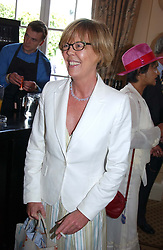 The HON.EMMA SOAMES at the King George VI and The Queen Elizabeth Diamond Stakes sponsored by De Beers for the 33rd year held at Ascot Racecourse, Berkshire on July 24th 2004.