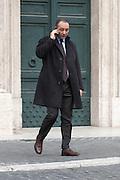 2013/03/19 Roma, parlamentari in Piazza Montecitorio. Nella foto Vincenzo Piso.<br /> Rome, parliamentarians in Montecitorio Square. In the picture Vincenzo Piso - &copy; PIERPAOLO SCAVUZZO