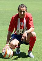 Fotball<br /> Spania 2005/2006<br /> Foto: Miguelez/Digitalsport<br /> NORWAY ONLY<br /> <br /> 26.07.2005<br /> Martin Petrov <br /> Athletico Madrid