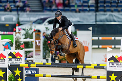 Rutschi Niklaus, SUI, Ambre de la Cense<br /> Stuttgart - German Masters 2019<br /> © Hippo Foto - Stefan Lafrentz<br /> 14/11/2019