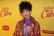 2019, Februari 11. Vue, Hilversum. Premiere van Verliefd op Cuba. Op de foto: Fenna Ramos
