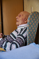 94 year old man in residential home. MR