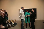 Mrs. Kalpana Brijnath,  Sharanbir Britnath and Rajit Dutta, Other,Riyas Komu and Peter Drake. - VIP  launch of Aicon. London's largest contemporary Indian art gallery. Heddon st. and afterwards ant Momo.15 Marc h 2007.  -DO NOT ARCHIVE-© Copyright Photograph by Dafydd Jones. 248 Clapham Rd. London SW9 0PZ. Tel 0207 820 0771. www.dafjones.com.