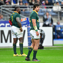 Francois Venter of South Africa during the test match between France and South Africa at Stade de France on November 18, 2017 in Paris, France. (Photo by Dave Winter/Icon Sport)