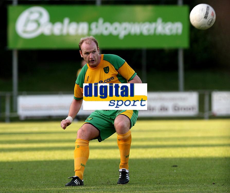 Photo: Maarten Straetemans.<br /> FC Zwolle v Norwich City. Pre Season Friendly. 25/07/2007.<br /> Gary Doherty (Norwich City)