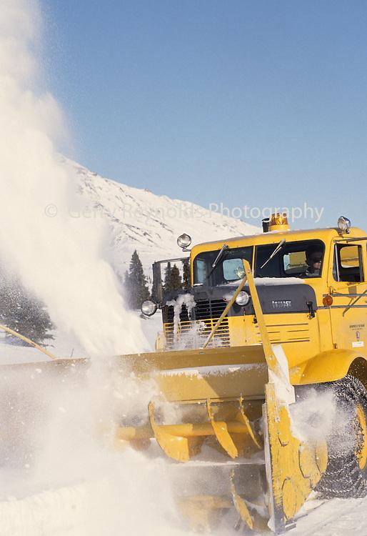 Snow Plow, Denali Park Road, Denali National Park, Alaska