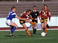 13.05.1990.Oilli-Pekka Heinonen (Lahden Reipas) v Jyrki H?m?l?inen (Mikkelin Palloilijat).©Juha Tamminen