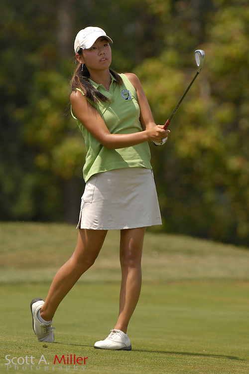 Mina Harigae during the quarterfinals of the U.S. Women's Amateur at Crooked Stick Golf Club on Aug. 10, 2007 in Carmel, Ind.    ...©2007 Scott A. Miller