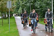 Nederland, Nijmegen, 18-8-2014Informatiemarkt op de eerste dag van de introductie voor eerstejaarsstudenten aan de Radboud universiteit, ru.Foto: Flip Franssen/Hollandse Hoogte