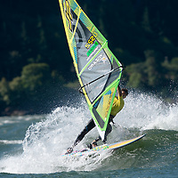 2013 American Windsurfing Tour Gorge Freestyle Frenzy July 17, 2013 near Hood River, Ore.