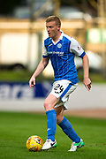 St Johnstone defender Brian Easton (#24) in action during the Betfred Scottish Cup match between St Johnstone and Partick Thistle at McDiarmid Stadium, Perth, Scotland on 8 August 2017. Photo by Craig Doyle.
