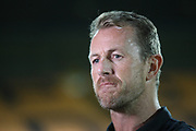 Derby County Manager Gary Rowett during the Pre-Season Friendly match between Port Vale and Derby County at Vale Park, Burslem, England on 18 July 2017. Photo by John Potts.