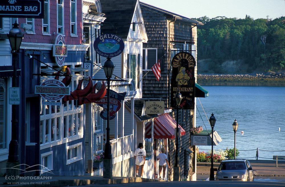 Main Street, Bar Harbor..Bar Harbor, ME