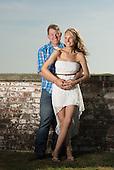 Bradley and Ashley Portrait | Atlantic Beach NC Photographers