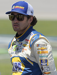April 29, 2018 - Talladega, AL, U.S. - TALLADEGA, AL - APRIL 29: Chase Elliott, Hendrick Motorsports, Chevrolet Camaro NAPA Auto Parts (9) waits on pit road during the Monster Energy Cup Series 49th Annual Geico 500 on April 29, 2018, at Talladega Superspeedway in Talladega, AL. (Photo by Jeffrey Vest/Icon Sportswire) (Credit Image: © Jeffrey Vest/Icon SMI via ZUMA Press)