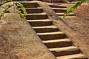 steps to ancient temple Anuradhapura