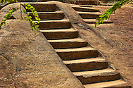 steps to ancient temple Anuradhapura