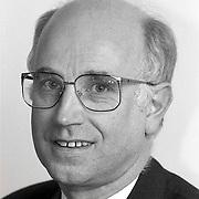 NLD/Huizen/19911114 - Arie Roetman SGP raadslid gemeenteraad Huizen