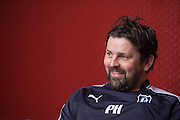 Dundee manager Paul Hartley previews the visit of Ross County to Dens Park<br /> <br />  - &copy; David Young - www.davidyoungphoto.co.uk - email: davidyoungphoto@gmail.com