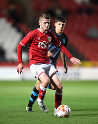 Tom Fry of Bristol City - Mandatory by-line: Paul Knight/JMP - Mobile: 07966 386802 - 12/10/2015 -  FOOTBALL - Ashton Gate Stadium - Bristol, England -  Bristol City U21 v Sheffield Wednesday U21 - Professional Development League