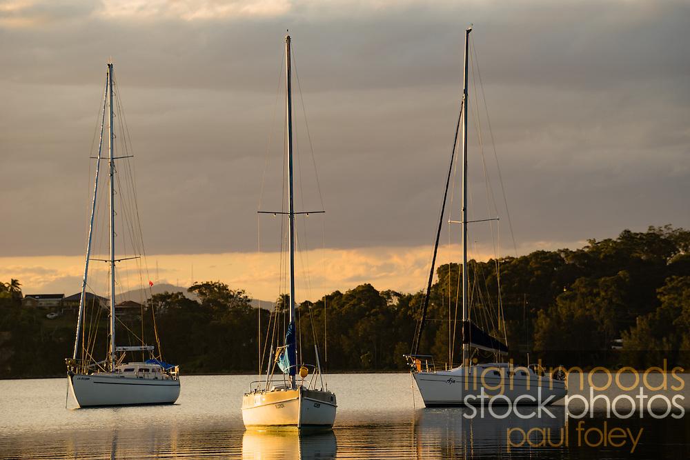 Sunset at Valentine, Lake Macquarie, NSW, Australia
