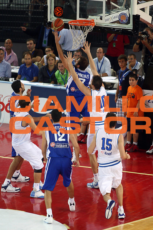 DESCRIZIONE : Roma Amichevole preparazione Eurobasket 2007 Italia Grecia <br /> GIOCATORE : <br /> SQUADRA : Grecia <br /> EVENTO : Amichevole preparazione Eurobasket 2007 Italia Grecia <br /> GARA : Italia Grecia <br /> DATA : 30/08/2007 <br /> CATEGORIA : tiro<br /> SPORT : Pallacanestro <br /> AUTORE : Agenzia Ciamillo-Castoria/G.Pappalardo
