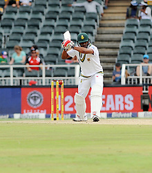 Johannesburg on 31 March 2018. JVernon Philander of South Africa bats during 2018 Sunfoil Test Series day 2 in the match between South Africa and Australia at the Bidvest Wanderers Stadium,014<br /> Picture: Matthews Baloyi/African News Agency (ANA)