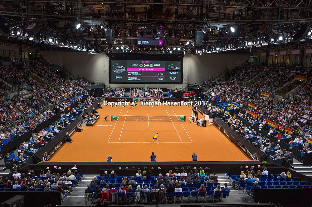 GER-UKR, Deutschland - Ukraine, <br /> Porsche Arena, Stuttgart, <br /> Uebersicht der Halle,